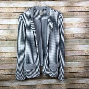 Anthro Dolan Left Coast • Tramore Striped Blazer